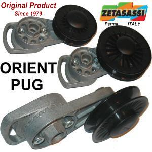 DIRECTIONAL BELT TENSIONERS TYPE ORIENT-PUG