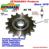 Hardened teeth idler sprockets