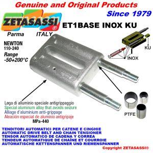 Tensor automatico inox  (casquillos ptfe)