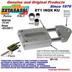 Tendeur automatique inox (bagues ptfe)