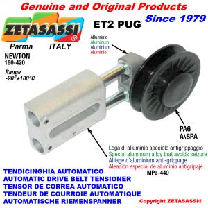 Drive belt tensioner