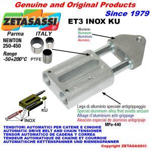 Inox drive tensioner (ptfe bushes)