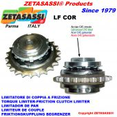 TORQUE LIMITER WITH PLATE WHEEL