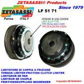 "Light alloy torque limiter ""lf 51-71"""