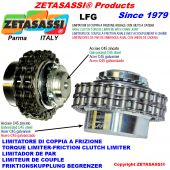 TORQUE LIMITER WITH CHAIN COUPLING