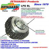 TORQUE LIMITERS WITH CHAIN COUPLING AND SLIDING INDICATOR