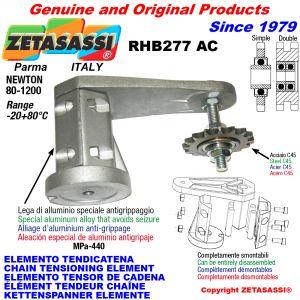 Chain tensioner device
