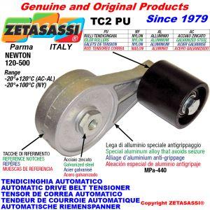 Arm belt tensioner