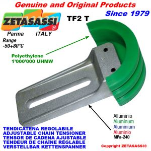 Adjustable chain tensioner