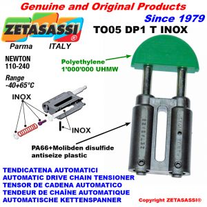 Inox drive chain tensioner