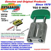 Inox linear drive chain tensioner