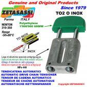 Inox linear drive chain tensioner