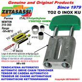 Inox linear drive chain tensioner (ptfe bushes)