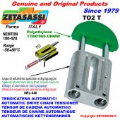Linear drive chain tensioner
