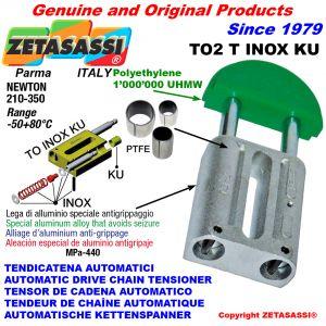 Tendeur de chaîne automatique inox (bagues ptfe)