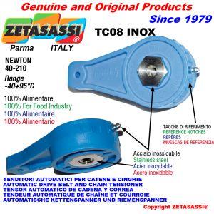 Inox arm tensioner