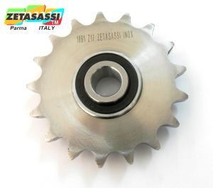 Stainless steel idler sprockets