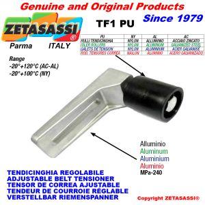 Adjustable belt tensioner