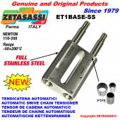 Completely in stainless steel DRIVE TENSIONER